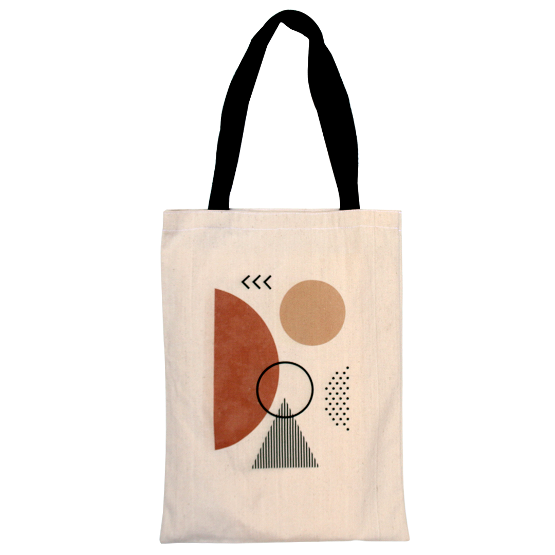 Tote bags in Egypt. Linen is the material used in the shopping bag. There is two different shapes Portrait tote bag & Landscape tote bag. It's Eco-friendly & fashion bag.