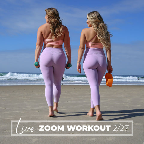 LIVE Zoom Workout