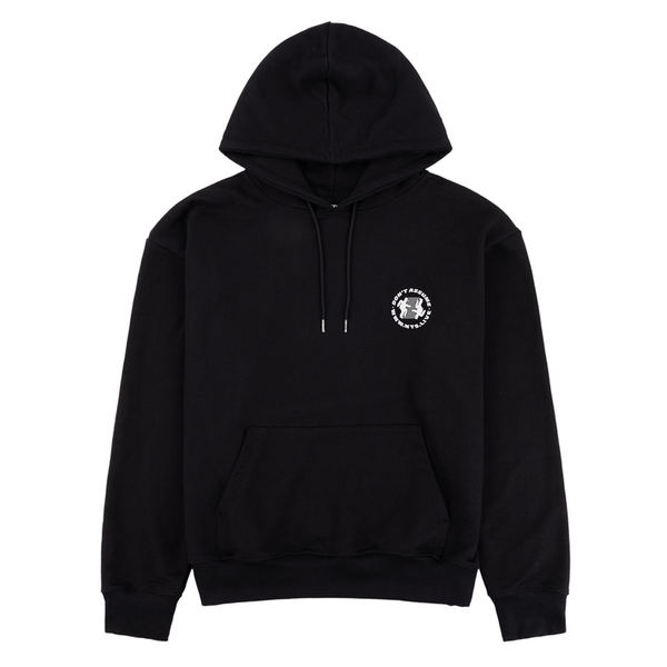 RUNNING MAN EMBROIDERED HOODIE