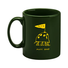 YELLOW ON GREEN MUSIC GOOD MUG