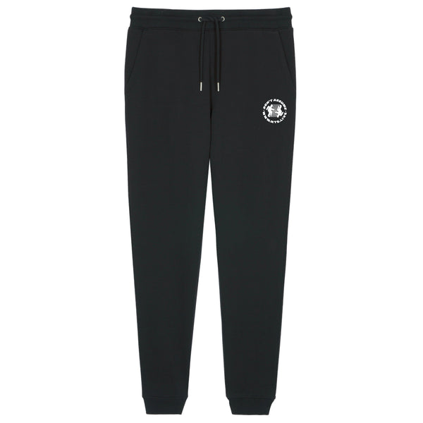 RUNNING MAN EMBROIDERED SWEATPANTS