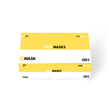 Load image into Gallery viewer, 100x Disposable 3 Ply Masks 3MASK 3MASK