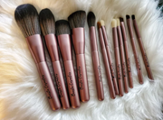 12-Piece Pro Makeup Brush Set