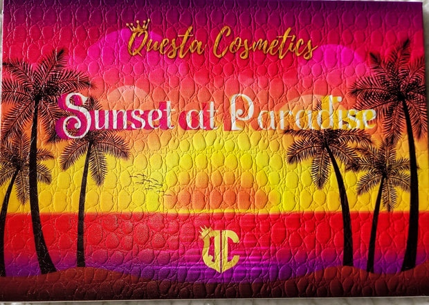 """Sunset at Paradise""- 35 Shade Eyeshadow Palette"