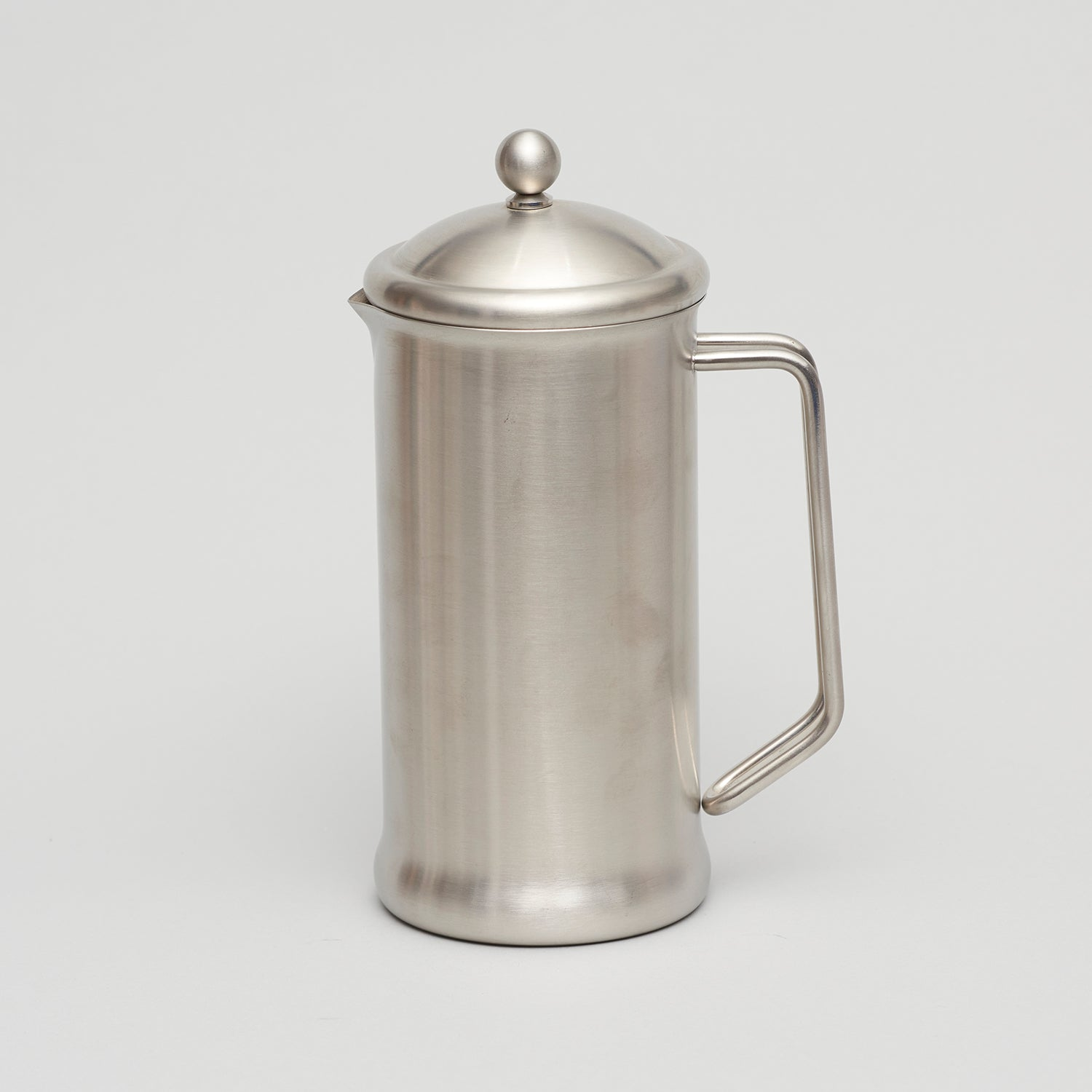 Brushed Stainless Steel Cafetiere
