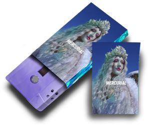 Elisabeth Elektra - 'Mercurial' Ltd Edition Cassette & Mini Zine Duo- Recycled Lilac (Pre-order)