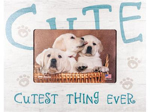 "Cutest Thing Ever 7.5""x 9.5"" Horizontal Picture Frame"