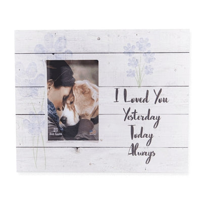 I Loved you Yesterday, Today, Always - Wood Pallet Box Frame 11.9