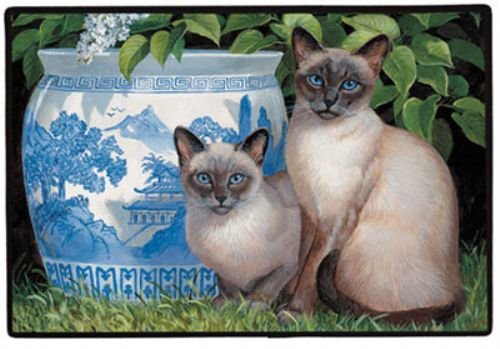China Blue Doormat 18