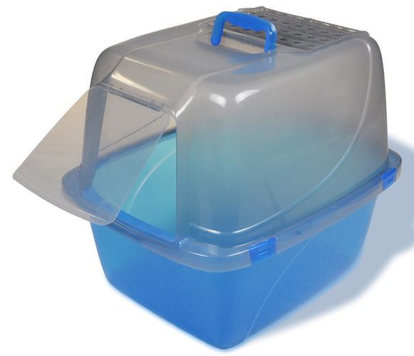 Van Ness Translucent Enclosed Cat Pan Extra-Giant