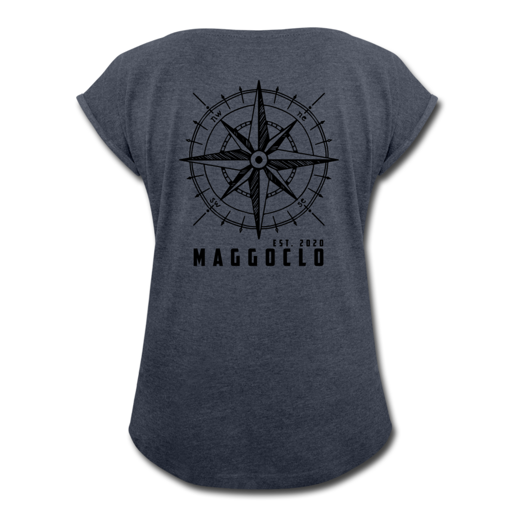 MCLO Compass Women's T-Shirt - Navy meliert