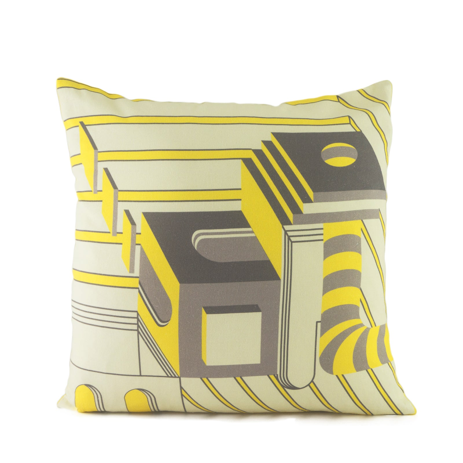 Sunrise Yellow Cover. 100% Cotton. Borderline PLAY. Cushion Cover Set