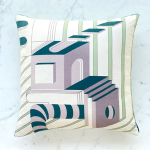 Deep Green Cushion Cover 100% Cotton. Made in India
