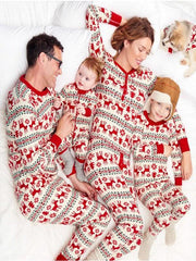 Christmas home wear family suit parent-child wear