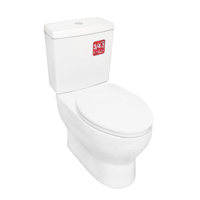 Water Closet with Tank