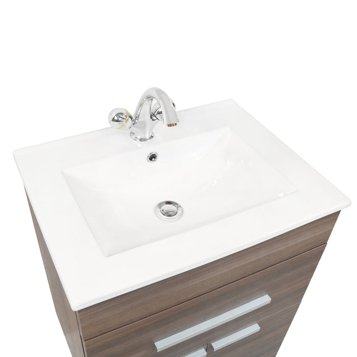 Single Wash Basin Cabinet with Mirror