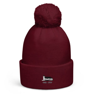 Open image in slideshow, Pom pom beanie