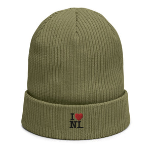 Open image in slideshow, Organic ribbed beanie