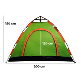 Automatic Camping Tent 200*150*120*cm Available in many colors