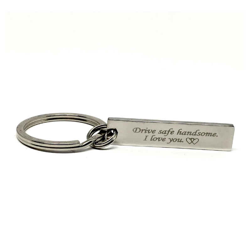 Buy Drive Safe Handsome I Love you Key Chain in Lebanon