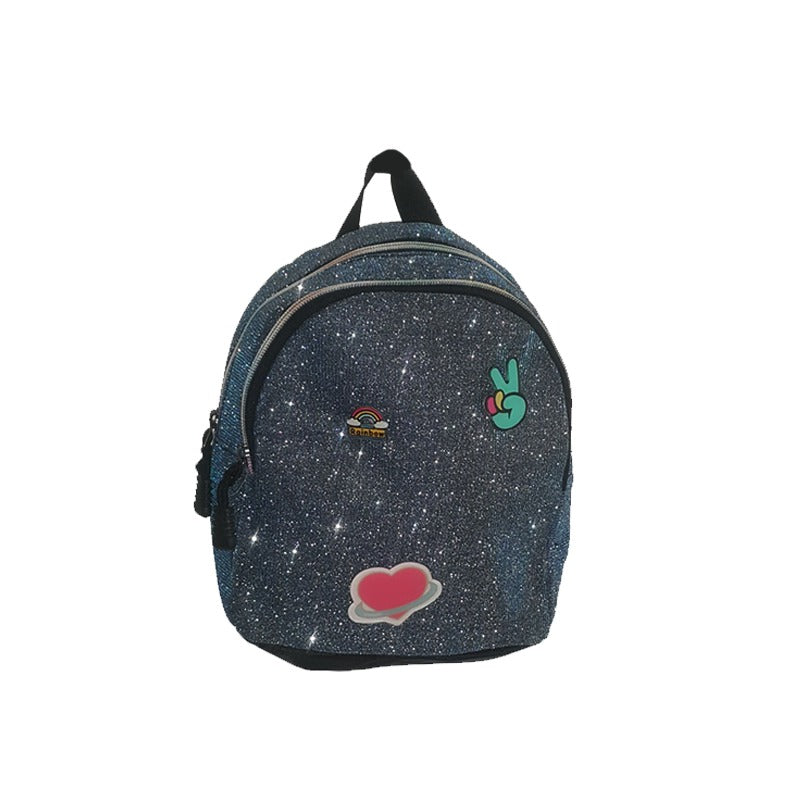 Glittery Mini Backpack
