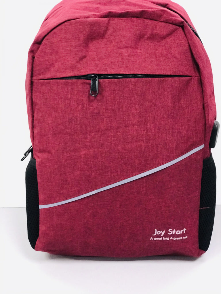 Joy Start Fashion Backpack with USB charging port