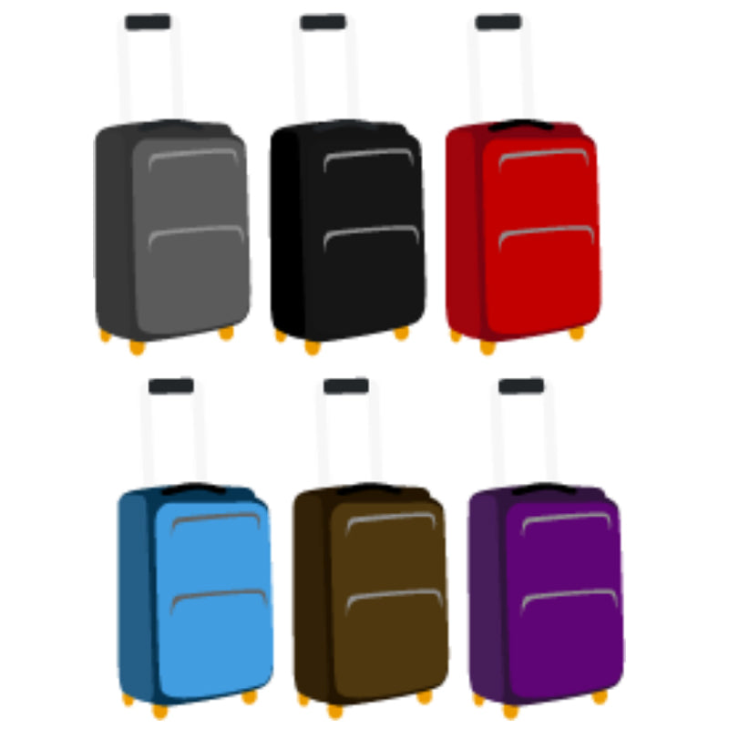 buy Travel-Carry-Case-Suitcase-Luggage-Multiple-Colors in Lebanon