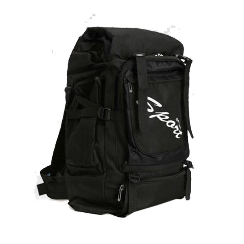 Sport Outdoor Water Resistant Backpack 60L BLACK