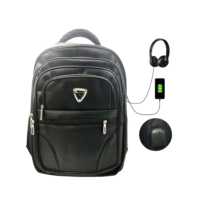 Backpack with USB and Headset Port, Suitable for Multi-use