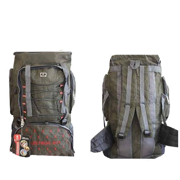 Outdoor Camping & Hiking Backpack 80L - Green