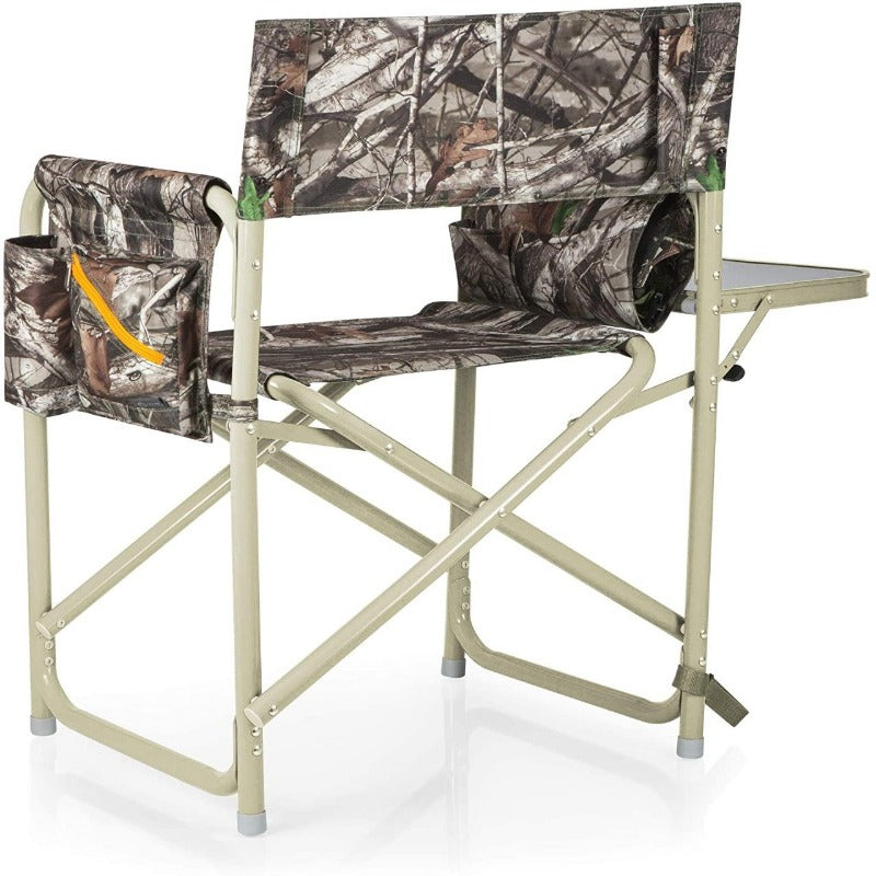 Aluminum Foldable Camping Chair - Camouflage