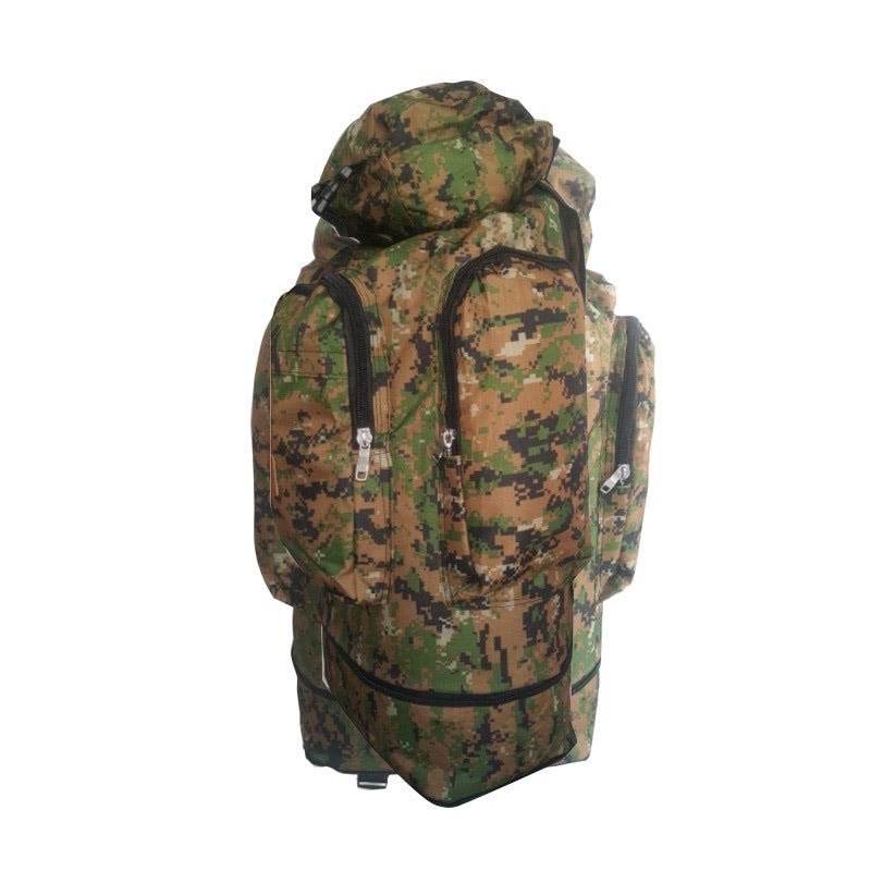 Camouflage Outdoor Hiking Backpack 60L