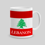 Buy Lebanon Flag Coffee Mug in Lebanon