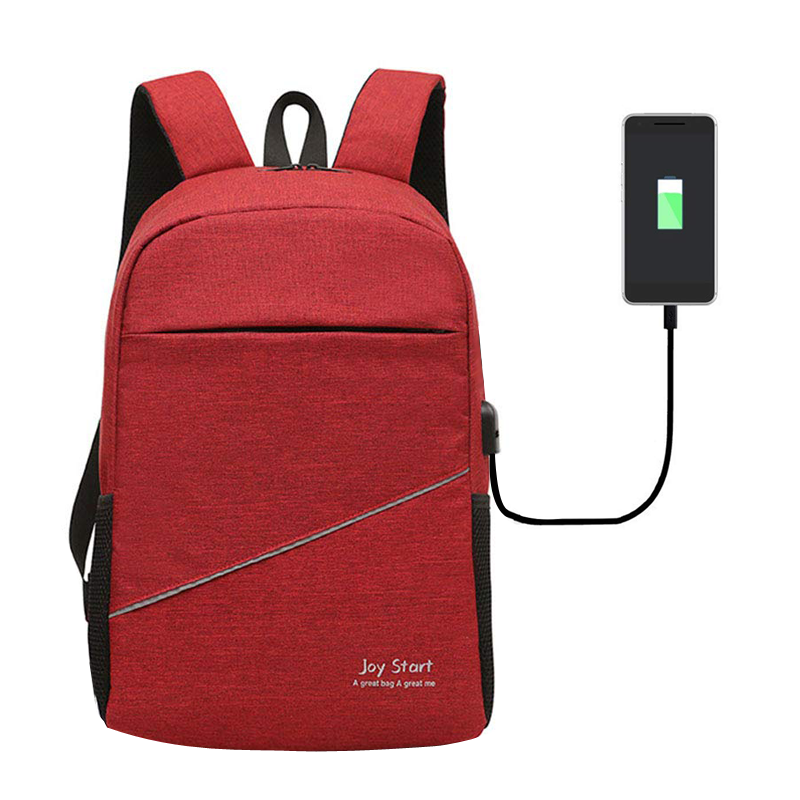 Joy Start Backpack With USB Charging port (Lavender)