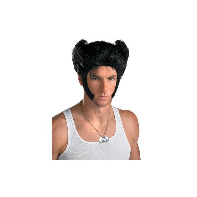 Buy marvel wolverine wig and dog tag in Lebanon
