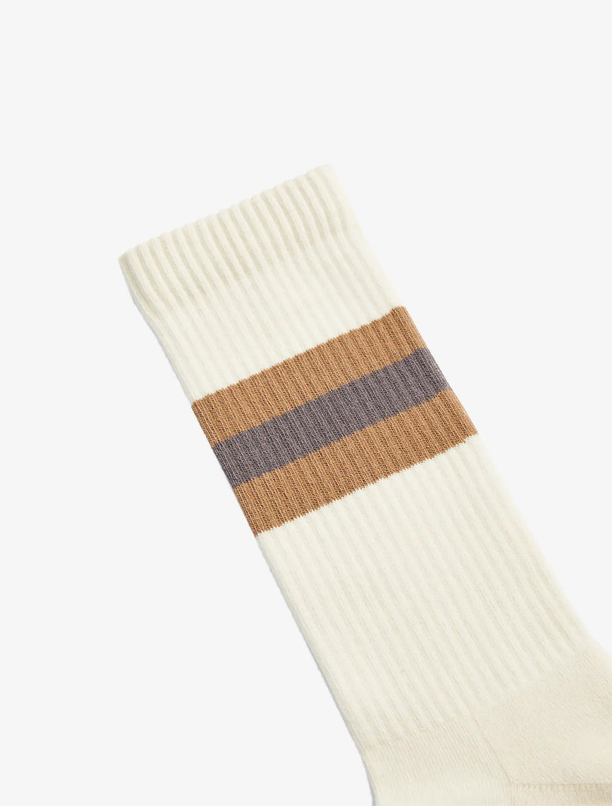 STRIPED RIBBED SOCKS