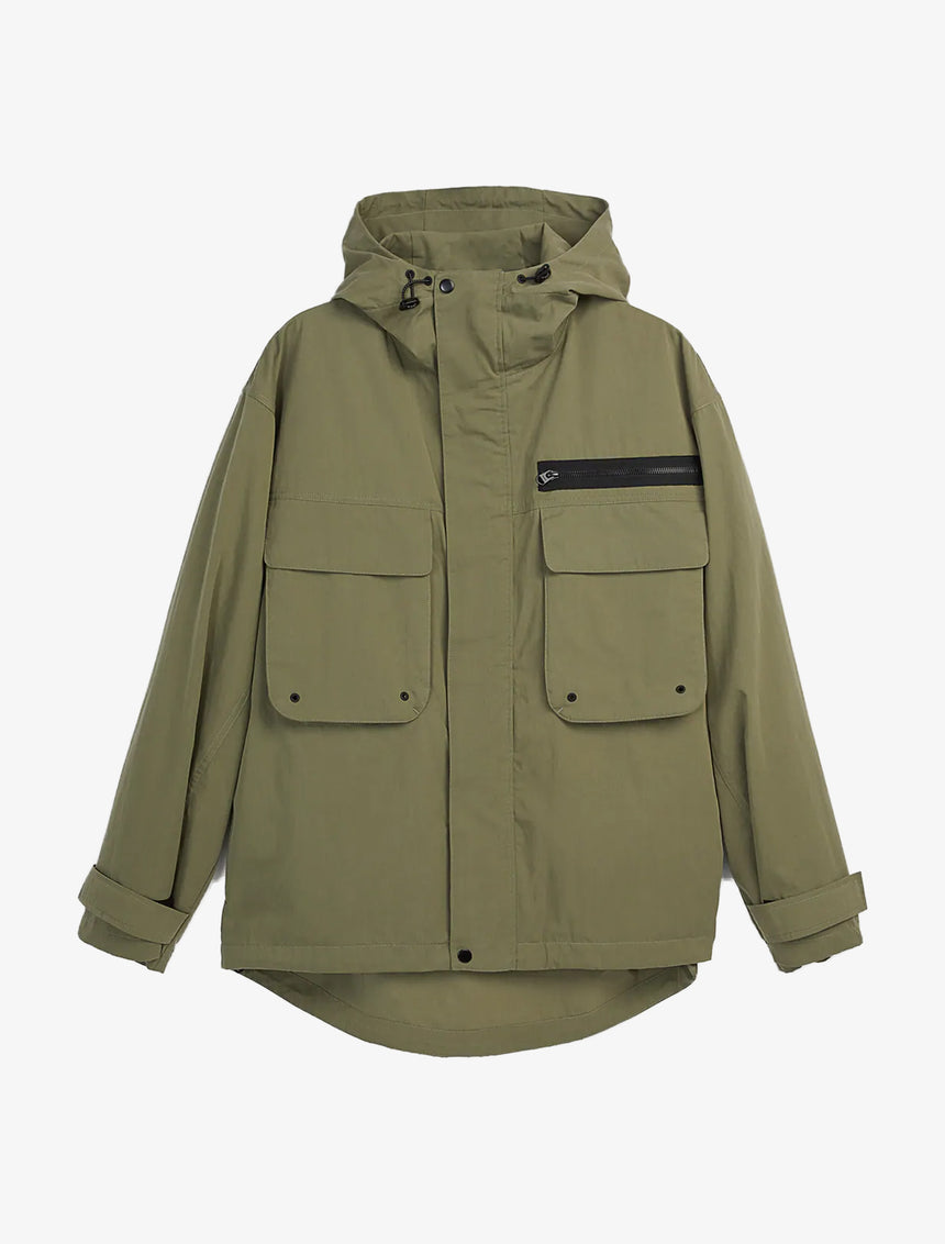 HOODED POCKET JACKET