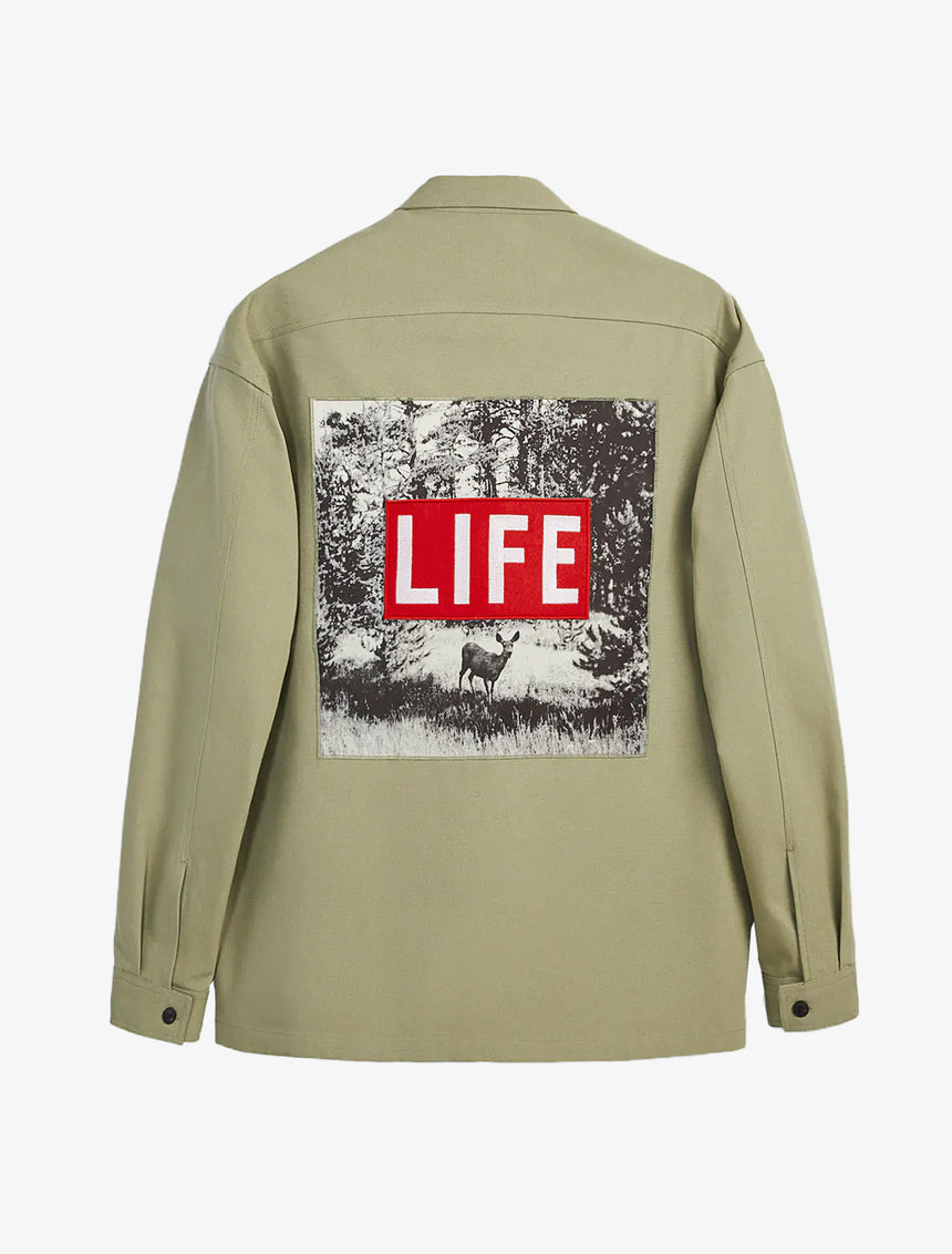 PATCHES OVERSHIRT