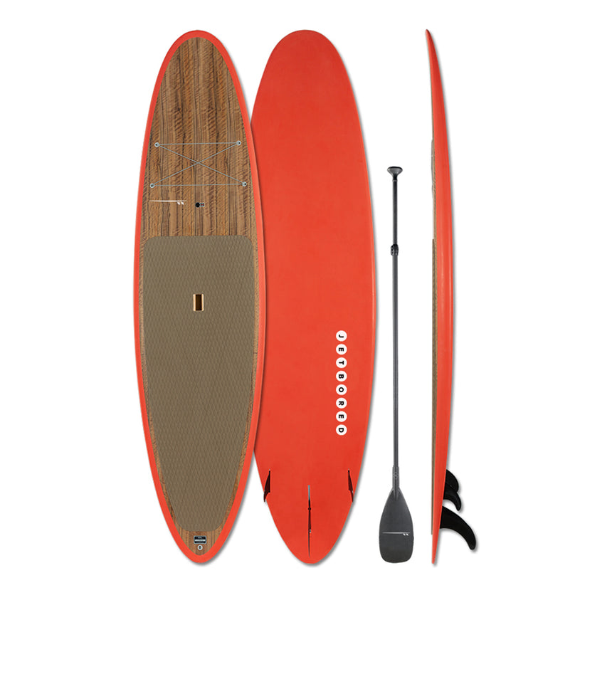 Jetbored Paddleboard - Red Orange