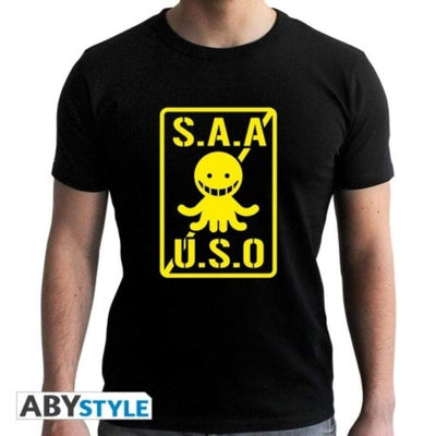 "Abysse Apparels Assassination Classroom - Tshirt  ""S.A.A.U.S.O"""