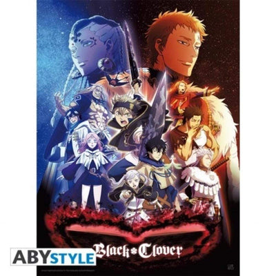 "Abysse Novelty BLACK CLOVER - Poster ""Group"""