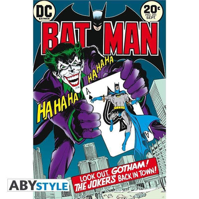 "Abysse DC COMICS - Poster ""Joker's back in town"" (91.5x61)"