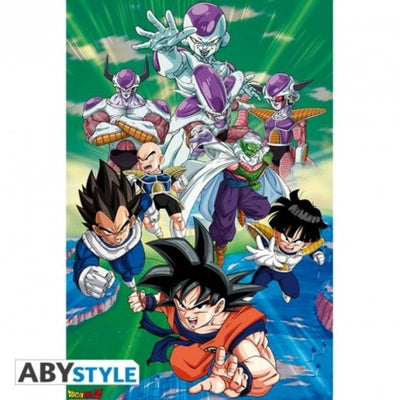 "Abysse Novelty DRAGON BALL - Poster ""Freezer group arc"""