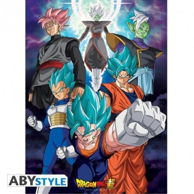 "Abysse Novelty DRAGON BALL SUPER - Poster ""Fusions"""