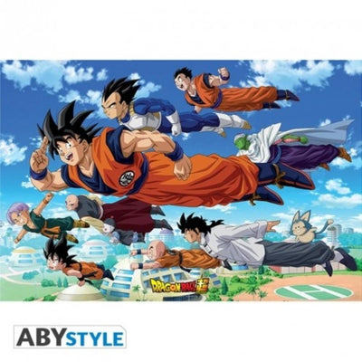 "Abysse Novelty DRAGON BALL SUPER - Poster - ""Goku's Group"""