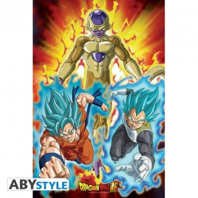 "Abysse Novelty DRAGON BALL SUPER - Poster - ""Golden Frieza"""
