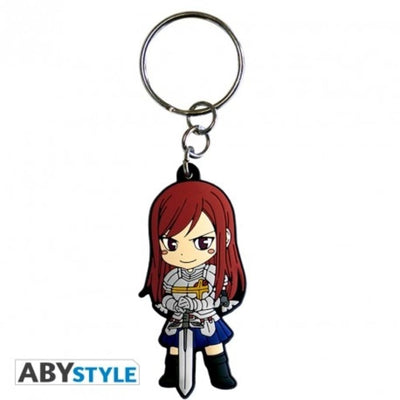 "Abysse Novelty FAIRY TAIL - Keychain PVC ""Erza"""