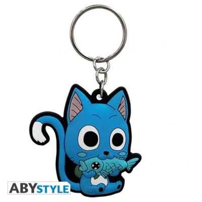 "Abysse Novelty FAIRY TAIL - Keychain PVC ""Happy"""