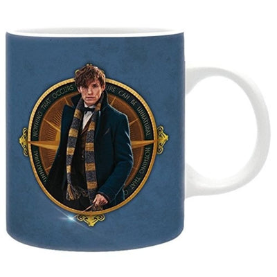 Abysse Novelty Fantastic Beasts - Mug - 320 Ml - Newt Bleu -