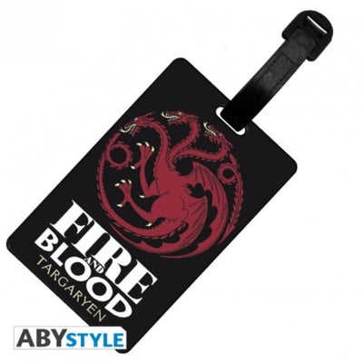 "Abysse Novelty GAME OF THRONES - Luggage tag ""Targaryen"""